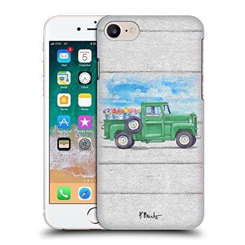 Head Case Designs Ufficiale Paul Brent Tulipani Camion di Fiori Cover Dura per Parte Posteriore Compatibile con Apple iPhone 7 / iPhone 8 / iPhone SE 2020