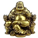 Feng Shui Handmade Maitreya Laughing Buddha Statue...