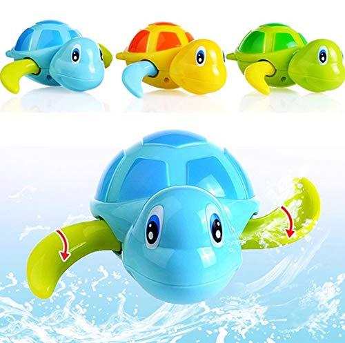 1 pieza de baño de bebé piscina juguete lindo viento hasta tortuga...