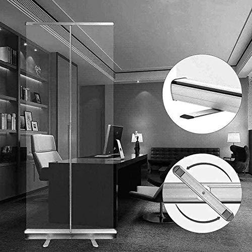 YUMUO Protector de estornudos para el piso, divisores de habitación, barrera enrollable, base premium, 6 (tamaño: 100 x 200 cm)