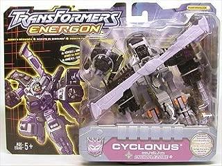 Transformers Energon CYCLONUS with CRUMPLEZONE Minicon by Transformers