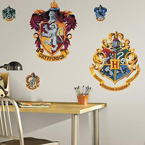 RoomMates Harry Potter-Wappen, Wanddekor zum Aufkleben