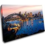 LoveSticker CH739 Leinwandbild Sydney Harbour Bridge Sydney