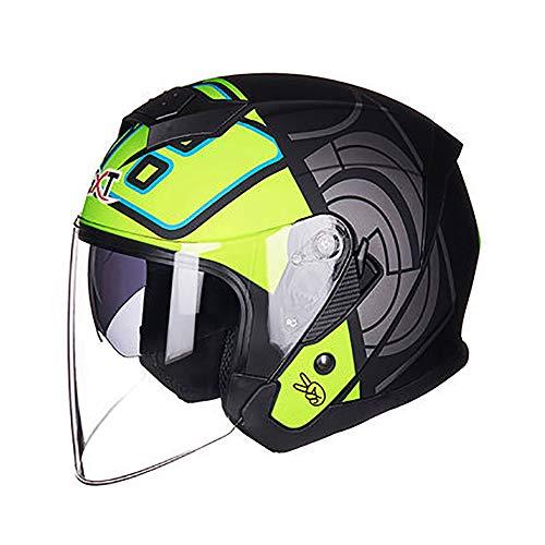 Casco De Moto Custom Homologado  marca TKTTBD