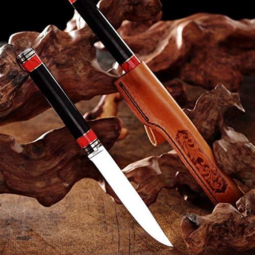 Cuchillo de chef Alta dureza del acero VG10 fruta de la cocina de corte de corte de la carne de salmón cocinero vegetal acampa al aire libre portátil de cuchillas