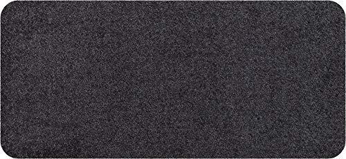 Salonloewe Fußmatte waschbar Anthrazit 030x060 cm
