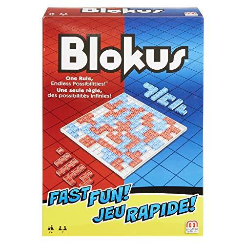 Blokus Fast Fun Version 2 Joueurs, Édition Voyage, Jeu de Société et de Stratégie, Fmw25