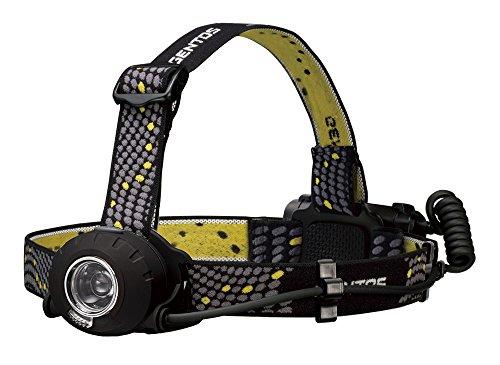GENTOS(ジェントス) LED ヘッドライト 【明るさ300ルーメン/実用点灯8時間/後部認識灯】 単3形電池3本使用 ヘッドウォーズ HW-000X ANSI規格準拠