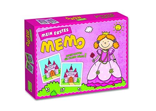paletti Mein erstes Lernspiel Memo Prinzessin mit extra großen Karten