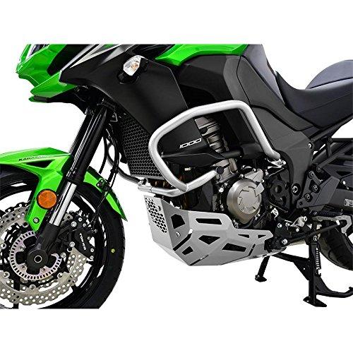Kawasaki Versys 1000 BJ 2015-18 Sturzbügel Schutzbügel Sturzschutz Motor Crash Bars silber IBEX