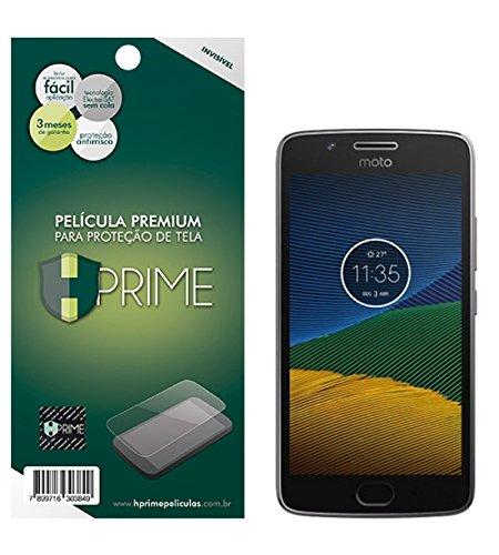 Pelicula Hprime invisivel para Motorola Moto Z Play/ Z2 Play/ Z3 Play - Verso, Hprime, Película Protetora de Tela para Celular, Transparente