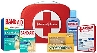 Band-Aid Brand Skin-Flex Adhesive Bandages First Aid Value Pack, 40 Count by Johnson & Johnson - Ketotifen