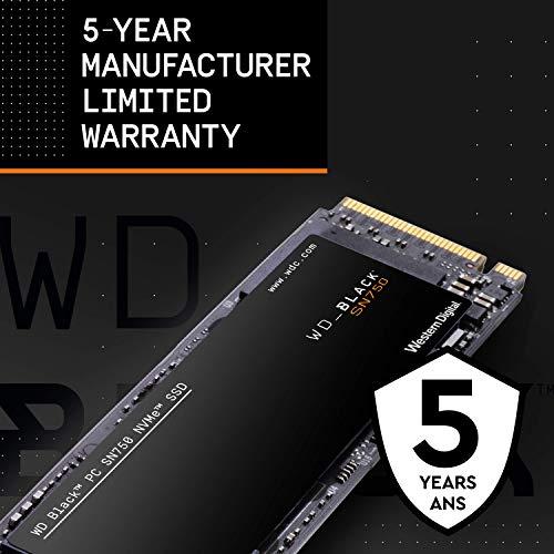 WD内蔵SSDM.22280/WDBLACKSN750NVMe500GB/ゲームゲームPCカスタムPC向けハイパフォーマンスSSD/WDS500G3X0C
