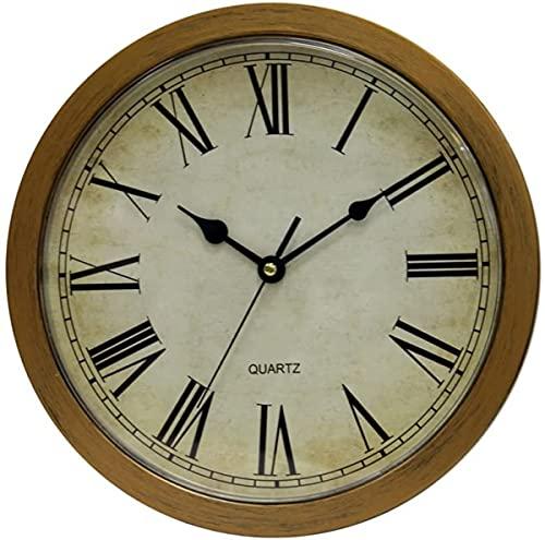 Reloj De Pared con Caja Fuerte Oculta Reloj Vintage Sala De Dormir Sala De Estar Dinero Organizador De Joyas Almacenamiento