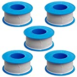 5pcs 20mm×15m PTFE Thread Seal Tape Pipe Sealant Tape for Home...