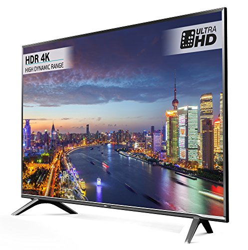 Hisense H43N5700UK 43-Inch 4K UHD Smart TV - Grey (2017 Model)