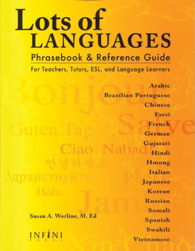 Compare Textbook Prices for Lots of Languages Phrasebook & Reference Guide Multilingual Edition Multilingual Edition ISBN 9781932457056 by Susan A. Worline,Michael Yoon Chen