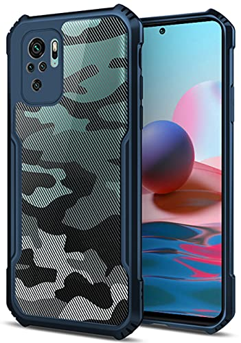 Kapa Beetle Camouflage for Redmi Note 10 / Note 10S Back Case, [Military Grade Protection] Shock Proof Slim Hybrid Bumper...