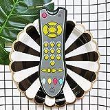 HehiFRlark - Juguete de aprendizaje con mando a distancia para bebé