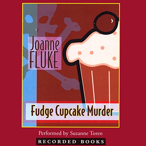 Fudge Cupcake Murder audiobook cover art