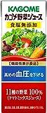 野菜ジュース 食塩無添加(200mL*12本入)