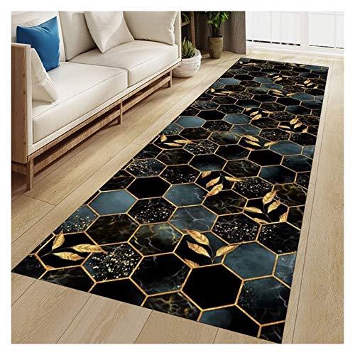 TTRY&ZHANG Alfombra de Alfombra Alfombra - para Pasillo Cocina balcón alfombras largas sin Deslizamiento Escalera Corredor Alfombra Bienvenida Felpudo (Color : Multi-OLORED, Size : 100X400CM)