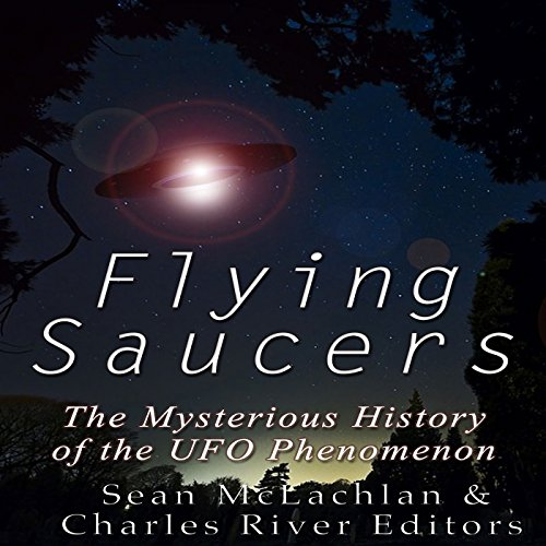 Flying Saucers audiobook cover art