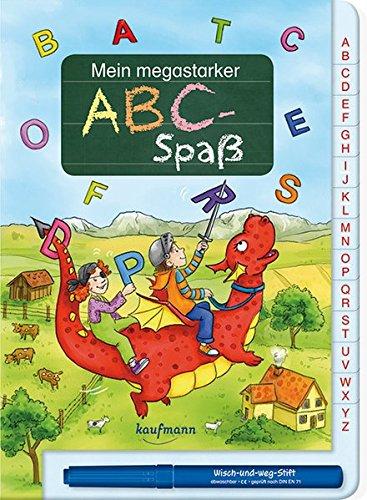 Mein megastarker ABC-Spaß (Übungen für die Vorschule / Wisch und Weg!)