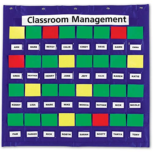 Learning Resources Junior Organization Station, Classroom Pocket Charts, Back to School Supplies, Classroom Behavior Chart, Homeschool & Classroom Hand-Washing, Ages 3+