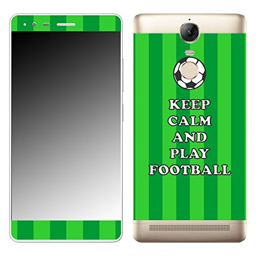 DISAGU SF 108529 _ 610 Design Skin Decal Sticker for Lenovo K5 Compatible – Design Keep Calm And Play Football