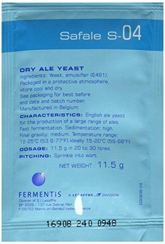 Fermentis Safale S-04 Multicolor (3 ct.11.5 g Packs)