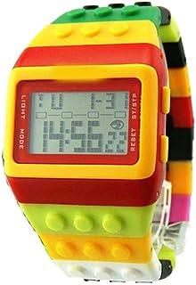 Orologio Bambino XYBB Orologio da polso digitale a LED per orologi per bambini Orologio sportivo elettronico colorato da r...