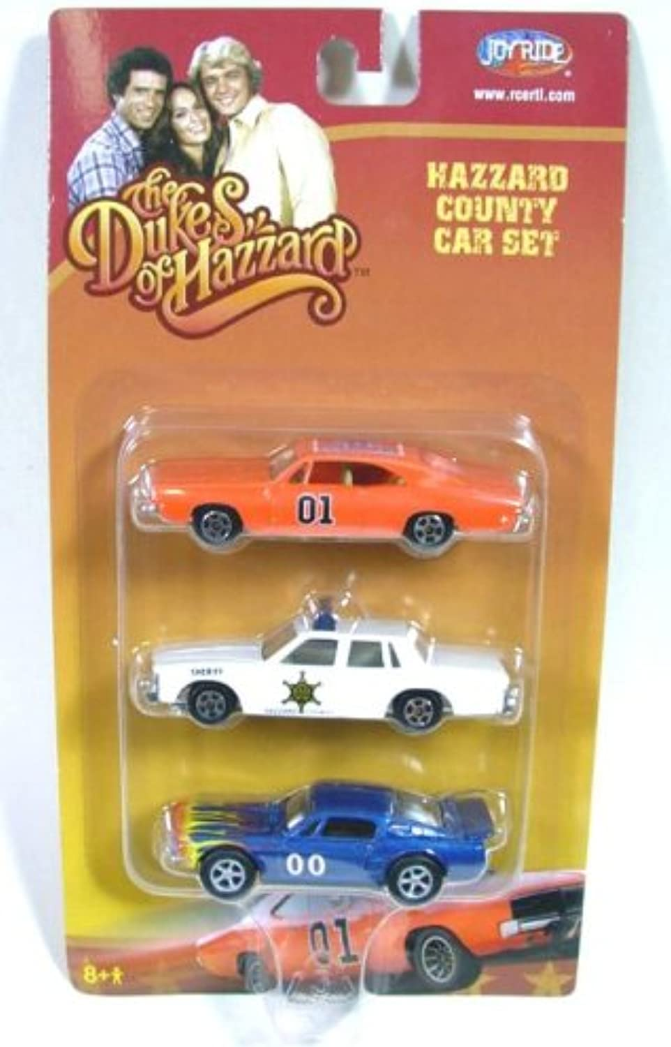 Joyride Entertainment Dukes of Hazzard Motorcars 1 64 Scale (3 Pack)