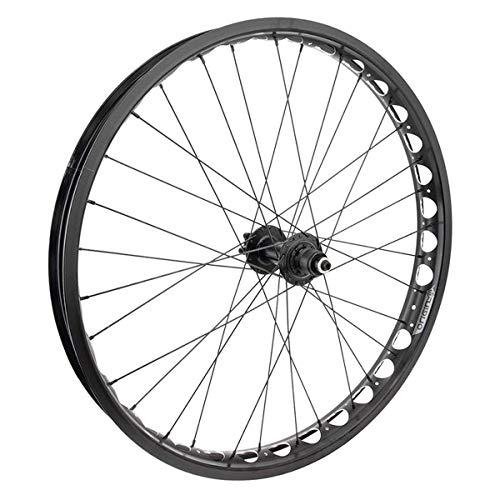 Origin8 Alloy Fat Disc Bicycle Wheel - 26 inch - 26x4.0 559x54 - Black