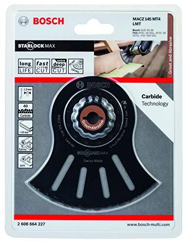 Bosch Home and Garden 2608664227 Bosch Professional Segmentsägeblatt MACZ 145 MT4 (Starlock, 145 mm, Zubehör Multifunktionswerkzeug)