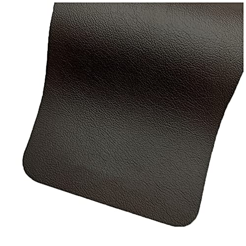 NIUFHW Pelle Sintetica 1.38m*1m Impermeabile e Resistente in Pelle dell'unità di Elaborazione per Il Divano e la mobilia Che rifiniscono i Rivestimenti della Parete 6 Colori(Color:55#)