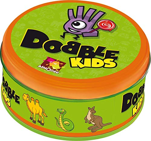 Asmodee Zygomatic 001769 - Dobble Kids, Reaktions-Spiel, Deutsch