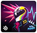 SteelSeries QcK Large - Gaming Mouse Pad - 450mm x 400mm x 2mm - Fabric - Rubber Base - CS: GO Neon Rider Edition PC
