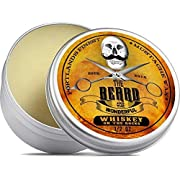 Whiskey on The Rocks Moustache Wax (15ml) Premium Strong Solution for Tache & Beard Styling Twists,Points, twizzles & Curls - The Beard and The Wonderful