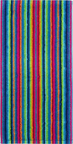 Cawö Home Handtücher Life Style Streifen 7048 Multicolor - 84 Saunatuch 70x180 cm