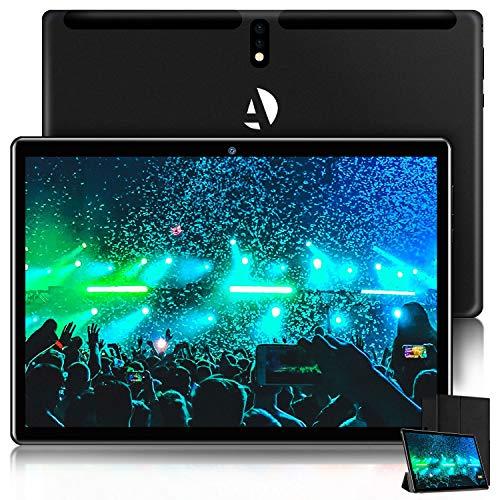 Tablet PC de 10 pulgadas, Android 9.0 Pie, Tablet con procesador de 1.3 GHz Quad-Core, certificación Google GMS, 4 GB RAM, 64 GB de...