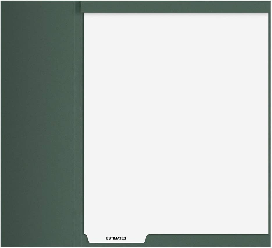 Estimates' Index Tab free shipping Divider with Top-Staple Selling and selling 50 Pk