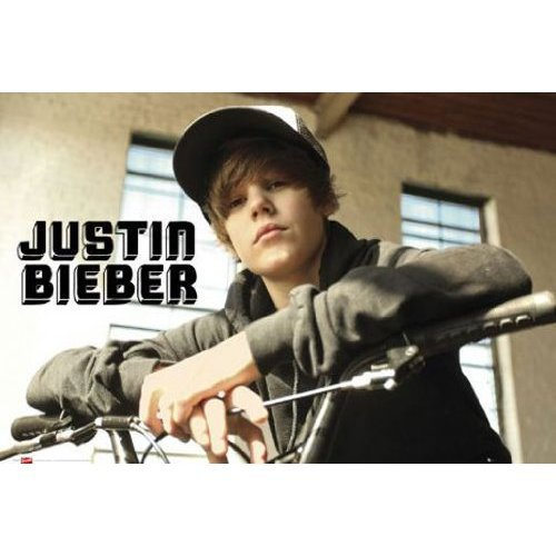 Empire 327468 Justin Bieber Bike - Poster - 91.5 x 61 cm