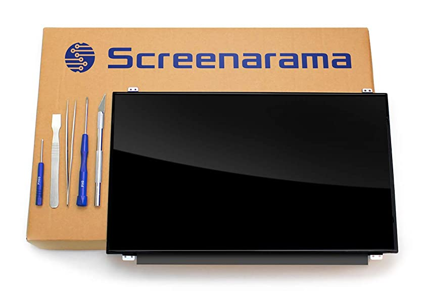 SCREENARAMA New LCD Screen for Acer Aspire A315-21-4098 1366x768 HD Glossy Display Replacement with Tools