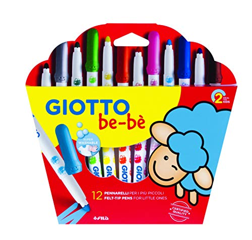 Giotto be-bè 466700 - Estuche 12 rotuladores súper lavable