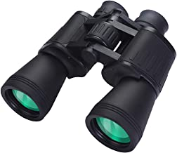 Binoculars for Adults, 20X50 High Power HD Durable Professional Waterproof Binoculars for Bird Watching Hunting Football Concerts with Weak Light Night Vision - BAK4 Prism FMC Lens (20X50)