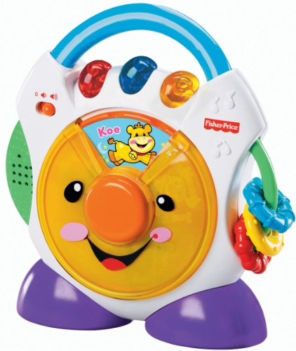 Fisher Price Laugh & Learn Nursery Rhymes CD Player (version anglaise)