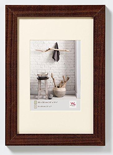 walther design HO520N Home Holzrahmen, 1 (15 x 20 cm), nussbaum