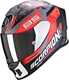 SCORPION Casque moto EXO-R1 AIR FABIO Replica, Noir/Rouge, M