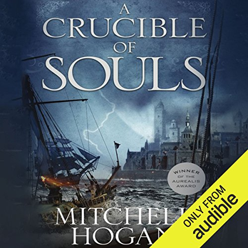 A Crucible of Souls audiobook cover art